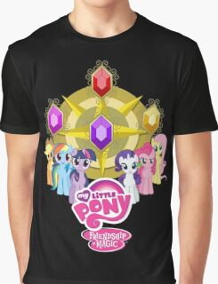 Mane 6 Elements Logo Graphic T-Shirt