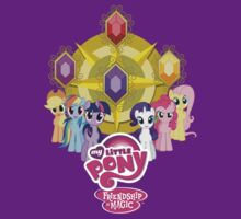 Mane 6 Elements Logo by Fan Shirts For Charity