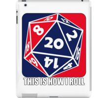 D20 - This is how I roll iPad Case/Skin