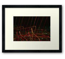 Suburb Christmas Light Series - Xmas Reach Framed Print