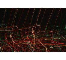 Suburb Christmas Light Series - Xmas Reach Photographic Print