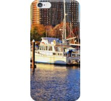 Newport Marina iPhone Case/Skin