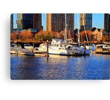 Newport Marina Canvas Print