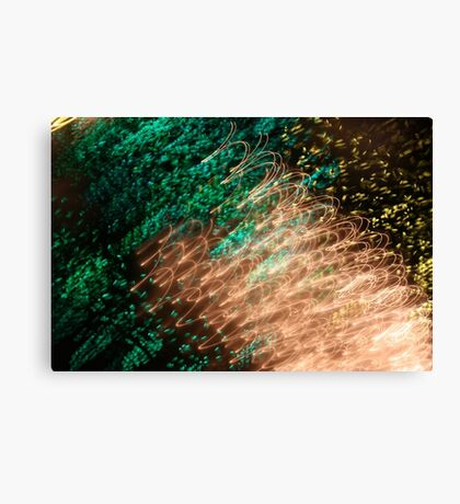 Suburb Christmas Light Series - Xmas Emerald Canvas Print