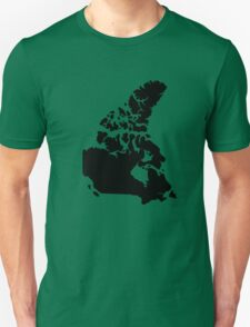 Map of Canada Unisex T-Shirt