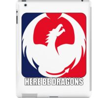 Here be Dragons iPad Case/Skin