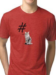 #TheCat Tri-blend T-Shirt