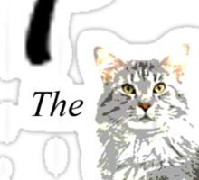 #TheCat Sticker