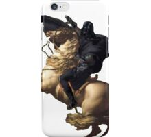 Darth vader riding a horse iPhone Case/Skin