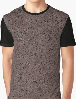 GRANITE RED-BROWN Graphic T-Shirt