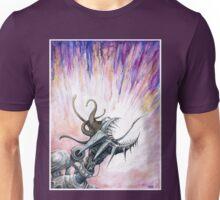 Screaming Mechanoid Cyborg Unisex T-Shirt