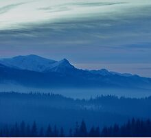 Views 5442 *** Winter landscape  - Tatra Mountains . Poland .  tribute to Gershwin plays Gershwin: Rhapsody in Blue . Made in Andrzej Goszcz .  thanks for viewing !. by © Andrzej Goszcz,M.D. Ph.D