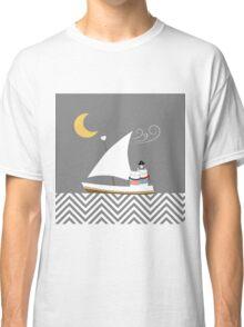 Nautical Cats Classic T-Shirt