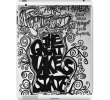 Great lakes state iPad Case/Skin