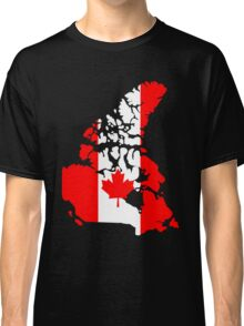 Map of Canada Classic T-Shirt