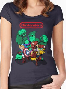 Nintenders Women's Fitted Scoop T-Shirt