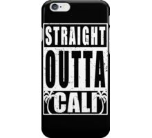 Vintage Straight Outta Cali iPhone Case/Skin