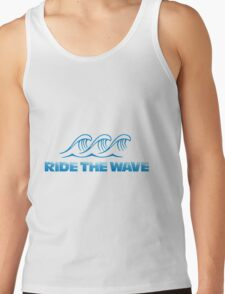 Ride the wave Tank Top