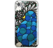 Blue song iPhone Case/Skin
