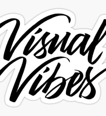 Ben Brown Visual Vibes Sticker