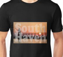 South Haven, Michigan Sunset Gathering Unisex T-Shirt