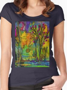 Our Secret Place Women's Fitted Scoop T-Shirt