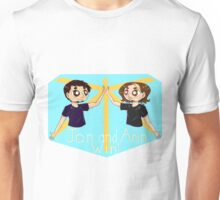 Jon and Arin win! Unisex T-Shirt