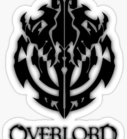 Overlord Anime Guild Emblem - Ainz Ooal Gown Sticker