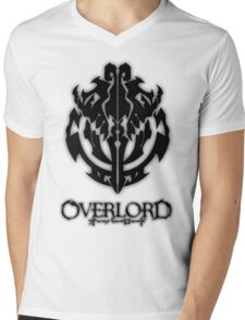 Overlord Anime Guild Emblem - Ainz Ooal Gown Mens V-Neck T-Shirt