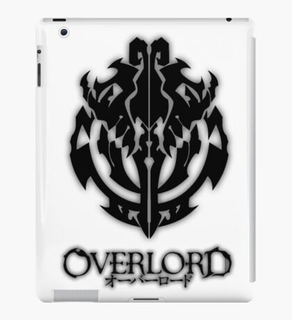 Overlord Anime Guild Emblem - Ainz Ooal Gown iPad Case/Skin