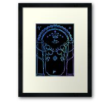 Door of Moria Framed Print