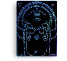 Door of Moria Canvas Print