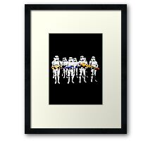 Imperial training day! Framed Print