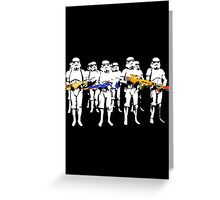 Imperial training day! Greeting Card