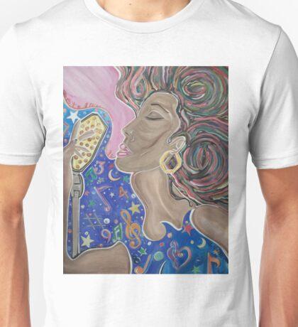 Lady Sings  Unisex T-Shirt