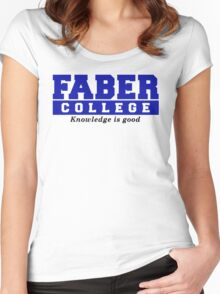 Faber College Animal House Movies TV Women's Fitted Scoop T-Shirt