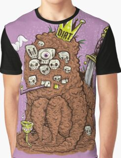 DIRT KING (BACKGROUND) Graphic T-Shirt