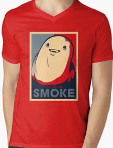 Chub Dislikes Smoke! Mens V-Neck T-Shirt