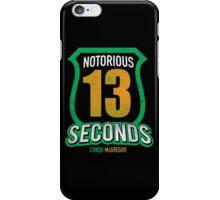 Notorious 13 Conor McGregor iPhone Case/Skin