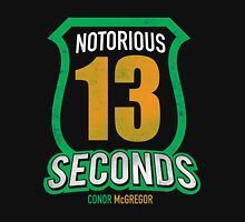 Notorious 13 Conor McGregor Unisex T-Shirt