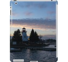 Blue and Rose Serenity iPad Case/Skin