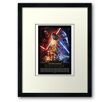 Star Wars Obey Framed Print