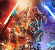 Star Wars Obey Sticker