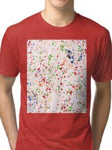 Color drops Tri-blend T-Shirt