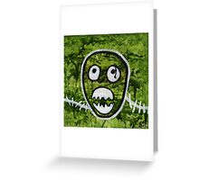 Mighty Boosh Seedy Pete Painting Art Greeting Card
