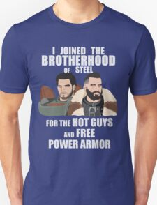 Why I Joined the Brotherhood of Steel T-Shirt
