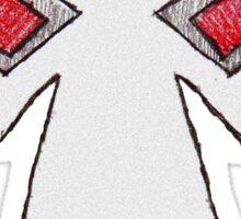 Comic Book Bane Mask Sticker