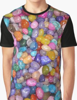 COLORED PEBBLES Graphic T-Shirt