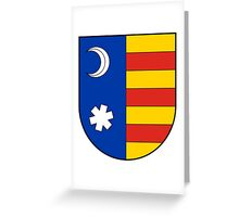 Vlad Tepes Coat Of Arms Greeting Card