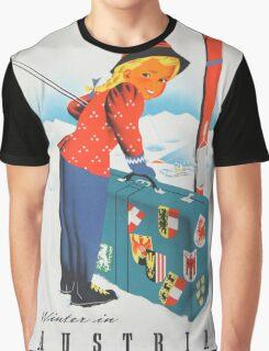 Vintage poster - Austria Graphic T-Shirt